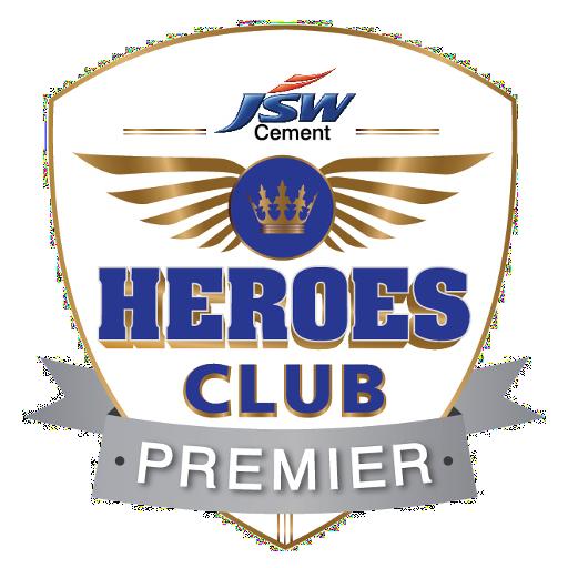 JSW HEROES CLUB PREMIER