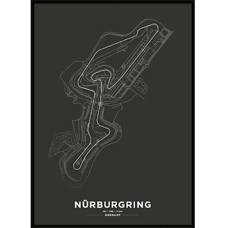 Poster, Nürburgring F1 print