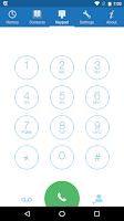 Screenshot of frSIP Mobile