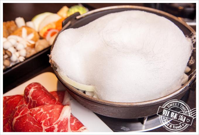 天水玥秘境鍋物店-壽喜燒頂及沙朗牛肉