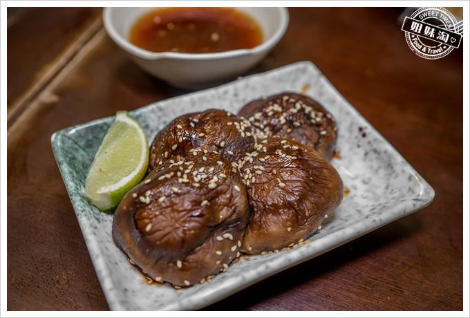 三味食堂烤香菇