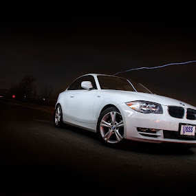 BMW 128i - Light Painted by Stephen Gruber - Transportation Automobiles ( bmw 128i lightpainting )