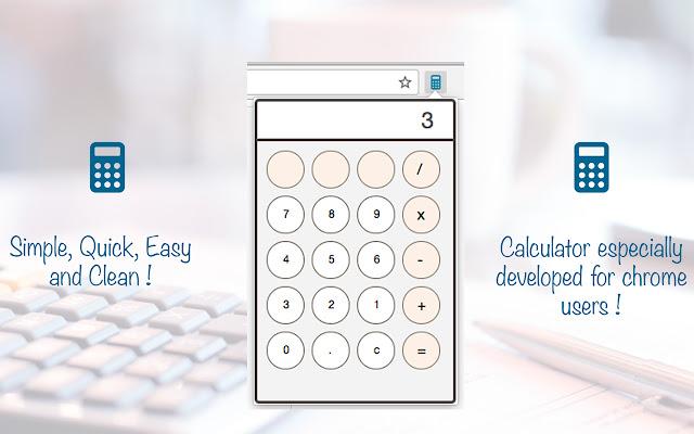 Calculator Chrome Extension