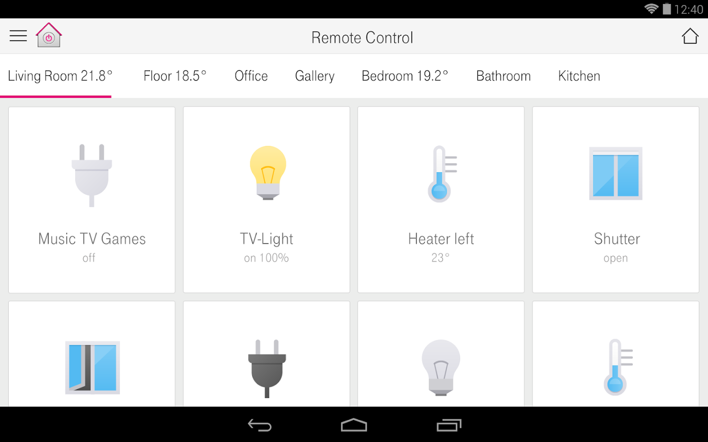 Homey App Smart Home Android Apps On Google Play