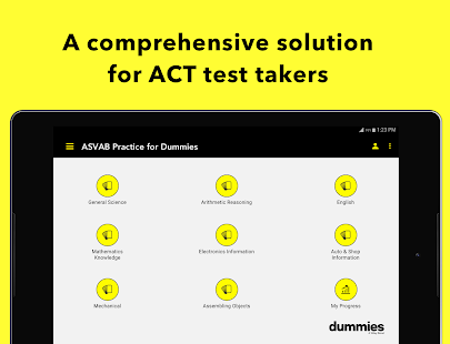 ACT Prep For Dummies- screenshot thumbnail