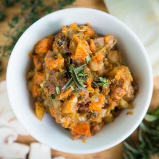 Sweet Potato and Sausage Paleo Stuffing