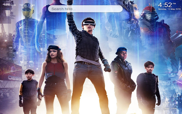 Ready Player One HD Wallpapers New Tab