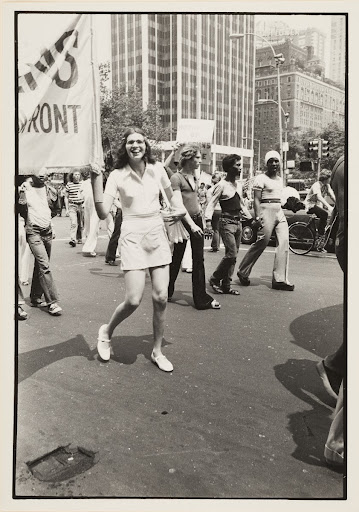 Christopher Street Liberation Day March, New York, 1973