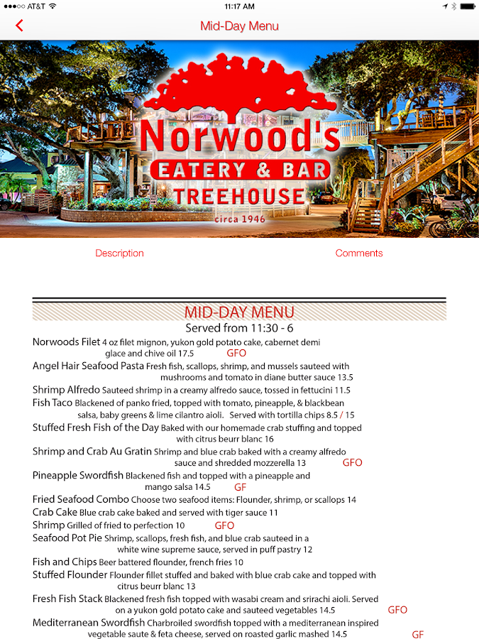 Norwood's- screenshot