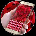 Rose petal keyboard icon