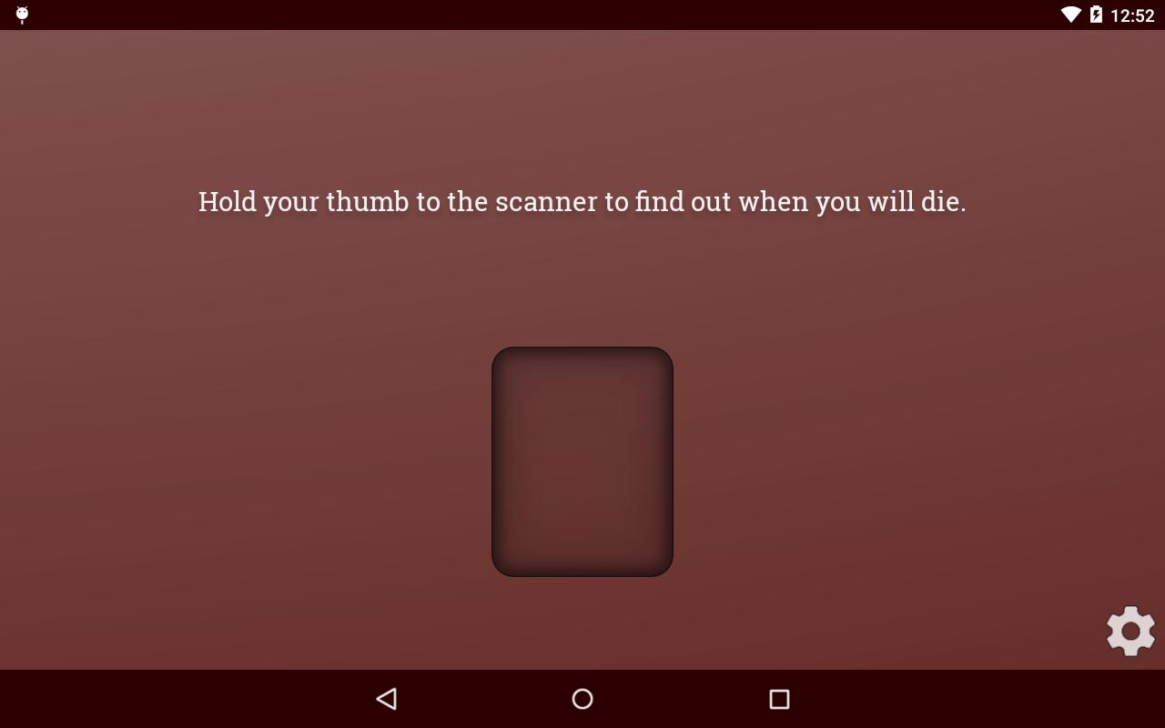 Death Scanner Prank- screenshot