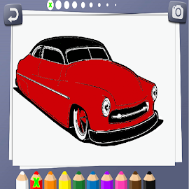 Cars Coloring Book Hot Rod