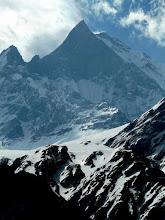 Photo: Nepals heiliger Berg der Machepuchare 6993 Meter hoch und unbestiegen