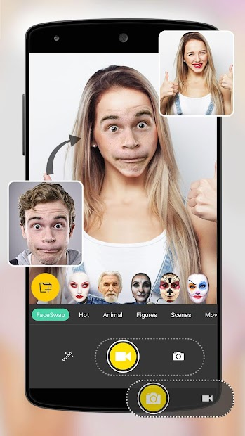 Face Swap Android App Screenshot