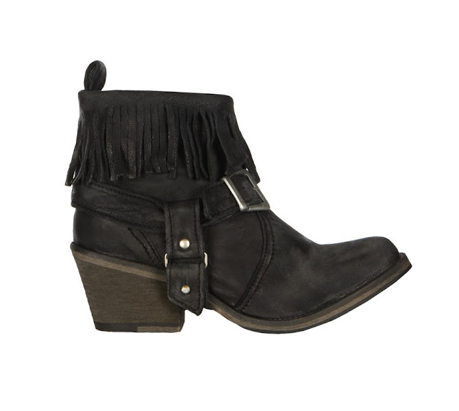 Photo: Bonny Cuban Boot>>  UK>http://bit.ly/SwFpwL US>http://bit.ly/OrT85B  Update of our popular Bonny Boot, on a new, higher Cuban heel. The Bonny Cuban Boot is made using soft Italian skins, burnished and finished for a lived in, rustic effect. This style features a removable buckle stirrup.