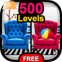 Find the Differences Free 500 levels icon