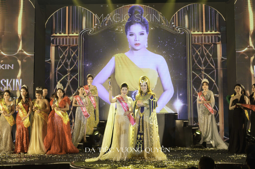 CEO Lê Thị Thành được vinh danh Á hoàng doanh nhân Magic Skin 2020 - Ảnh 3
