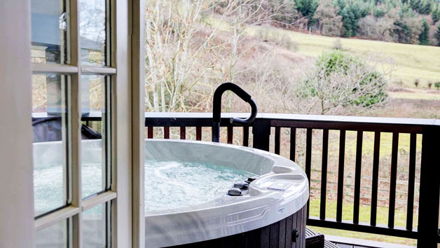 Outdoor Jacuzzi at The Wild Pheasant Hotel and Spa