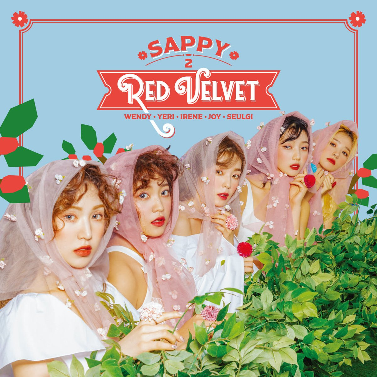 Red Velvet Unveils All Individual Teasers For Quot Sappy Quot As