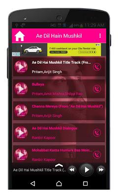 Ae Dil Hai Mushkil Movie Song - screenshot