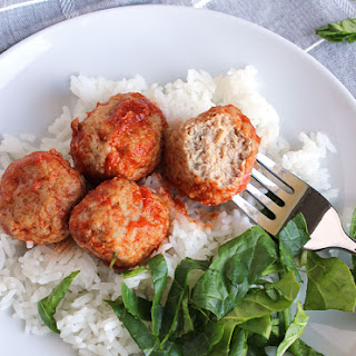 Tangy Crockpot Turkey Meatballs.