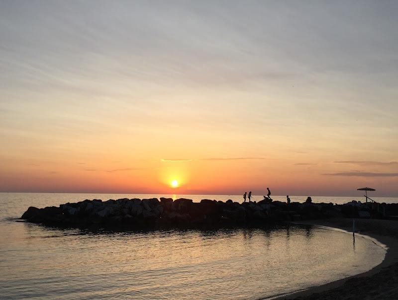 Tramonto su mare toscano di zufff____