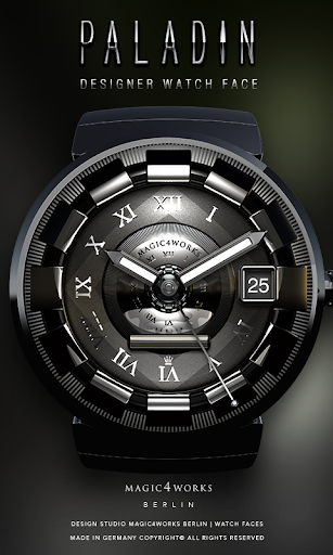 Paladin Watch Face