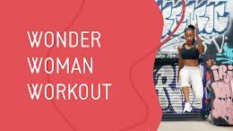 Wonder Woman Workout - YouTube Thumbnail item