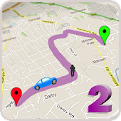 GPS Route Finder 2- Map Navigation