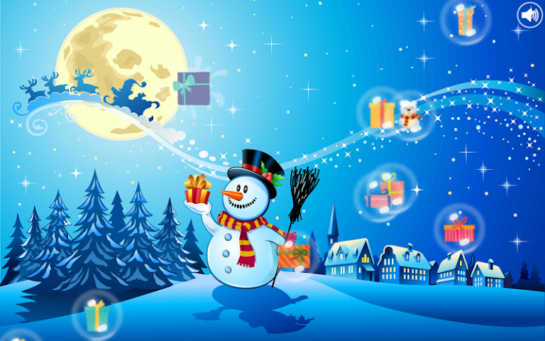 android Christmas Bubbles for Kids Screenshot 3