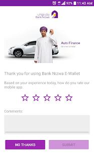 Bank Nizwa Wallet - náhled