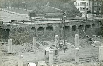 Photo: Old Aquarium site now an underground car park