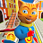 Super Hero Cat Run logo