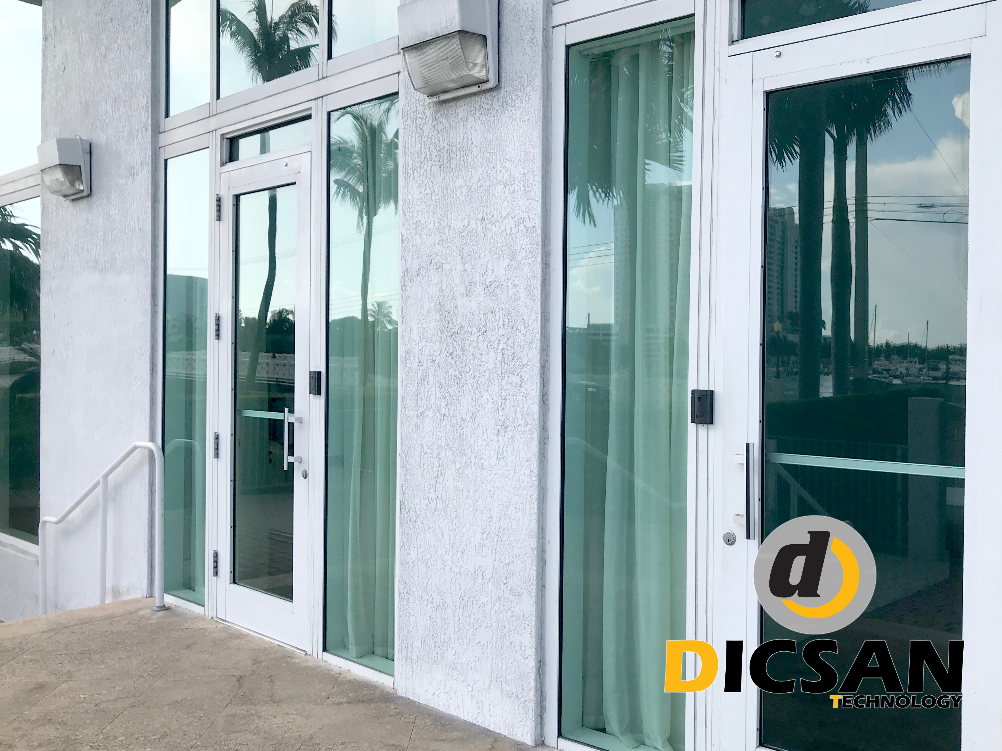 Millennium Access Control System at Condominium in Miami Beach