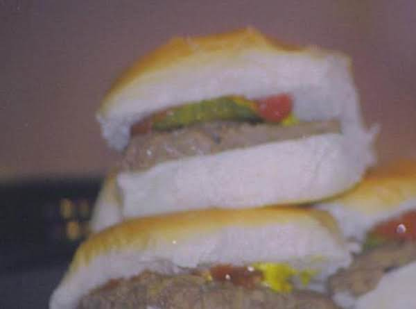 Copy Cat White Castle Mini Burgers Recipe