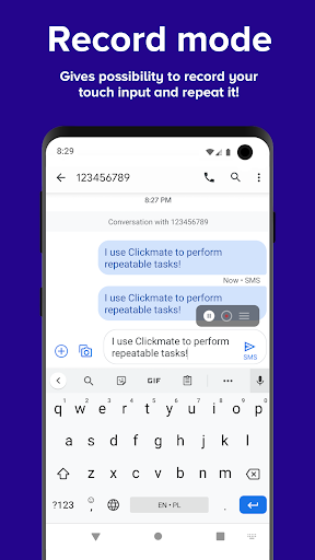 Clickmate - Macro Touch Repeat, Autoclick [NOROOT] 5.0.1 Screenshots 3