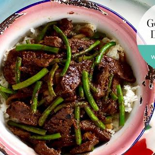 Beef And Black Bean Stir-fry.