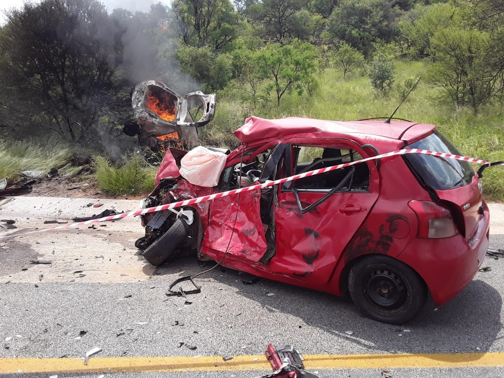 Four dead, two slightly hurt in fiery Limpopo crash - SowetanLIVE