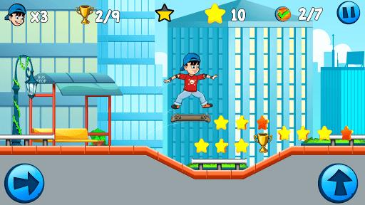 Skater Kid apkpoly screenshots 9