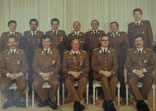 Photo: 15 Nov 1980 Bruyninckx, Chapelle, Amel, Van De Velde, Aesseloos, Plainchamp, Vandevoorde. Haseldonckx, Leyssens, Duyssens, Bertrand, Estievenart