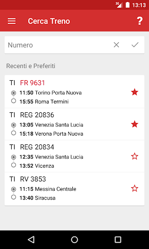 Train Timetable Italy screenshot 5