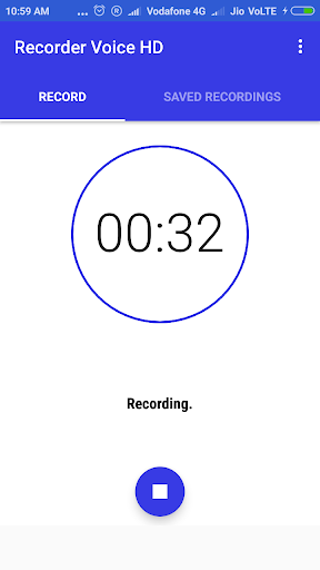 Recorder Voice HD 1.5.4 screenshots 2