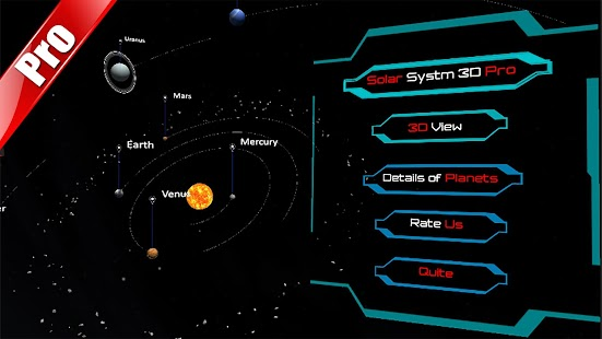 Solar System Encyclopedia : 3D Universe Astronomy Screenshot