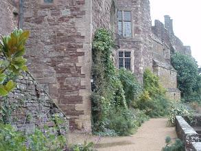 Photo: Gardens along the castle walls.