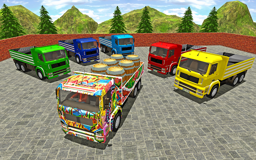 3D Truck Driving Simulator - Real Driving Games Apk 1