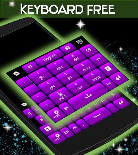 玩個人化App|键盘免费紫色主题免費|APP試玩