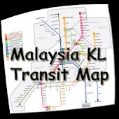 Malaysia KL Transit Map