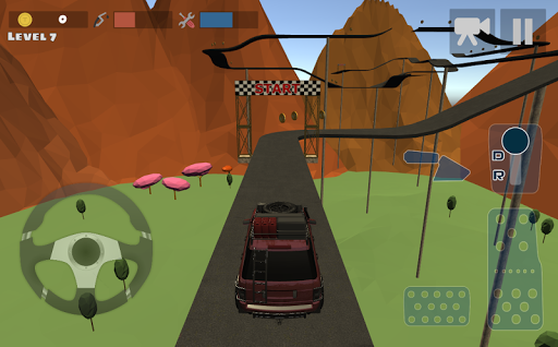 Mountain 4x4 Climb Screenshot