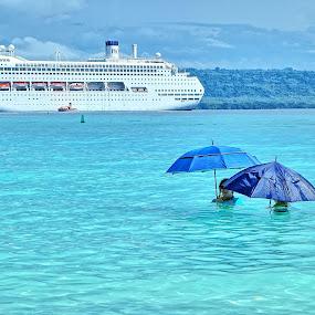 lab by Glen John Terry  - Transportation Boats ( beach, life,  )