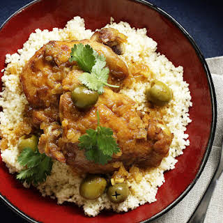 Chicken Tagine with Olives.